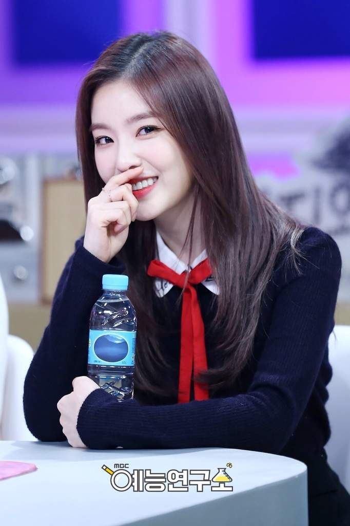 Visual glowing Irene Red Velvet